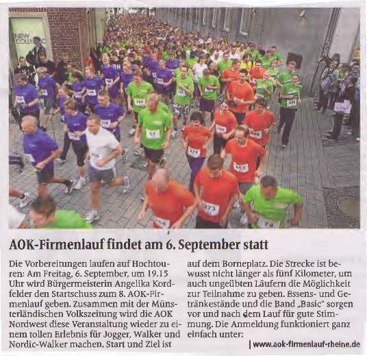 Quelle: Münsterländische Volkszeitung vom 10. August 2013